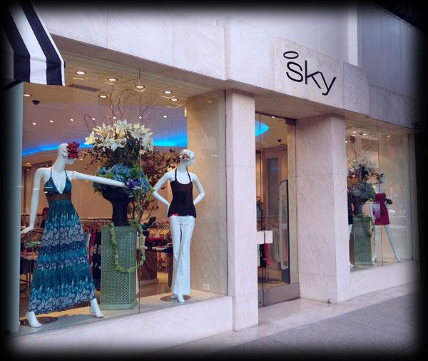 Sky retail store
